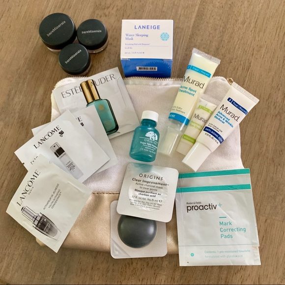 Other - 💫 3/25 SALE! Lot of make up and skincare samples